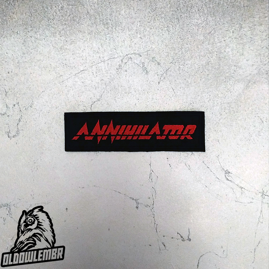 Patch Annihilator Technical Speed Groove Thrash Metal band.