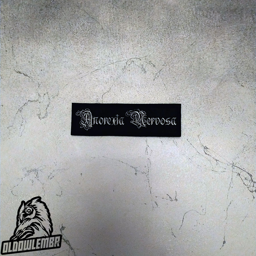 Patch Anorexia Nervosa Symphonic Black Metal band.