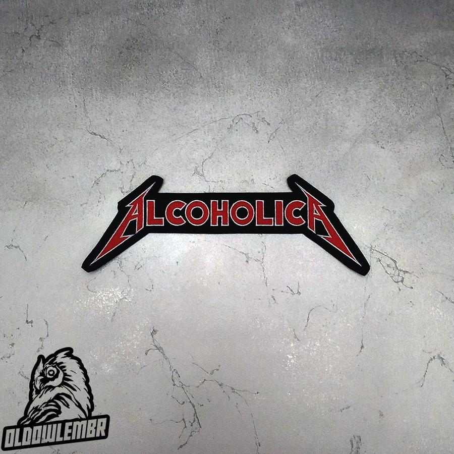 Big Back patch Alcoholica.