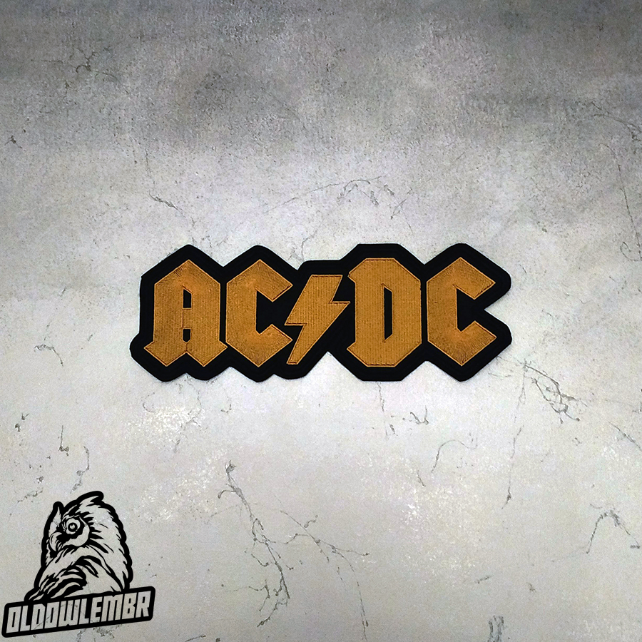 Big Back patch AC/DC band.