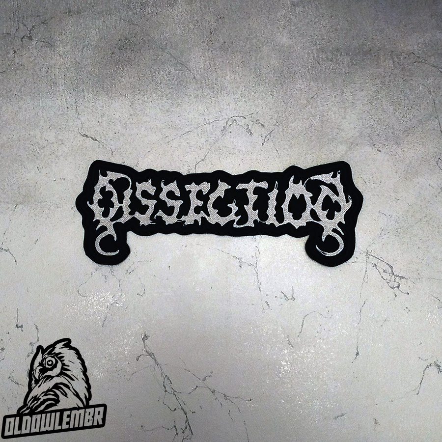 Big Back patch Dissection Black Metal band.