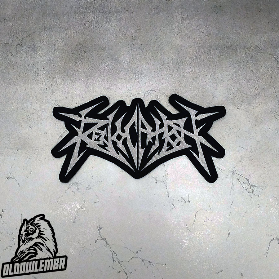 Big Back patch Revocation Technical Death Metal band.