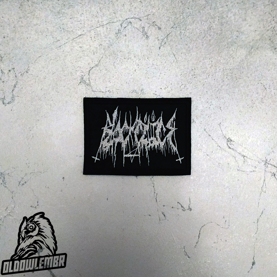 Patch Black Cilice Raw Black Metal band.