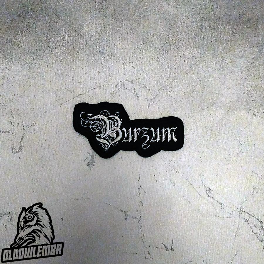 Patch Burzum Black Metal band.