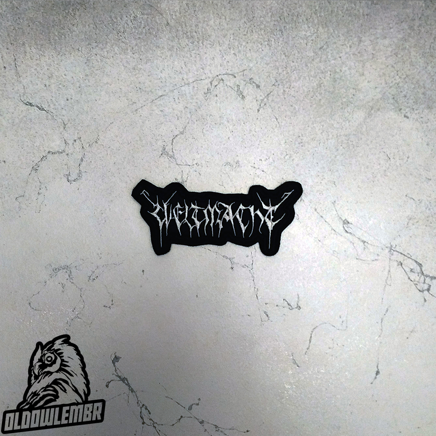 Patch Weltmacht Black Metal band.