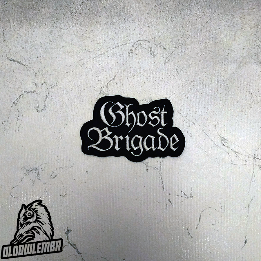 Patch Ghost Brigade Melodic Death Doom Metal band.