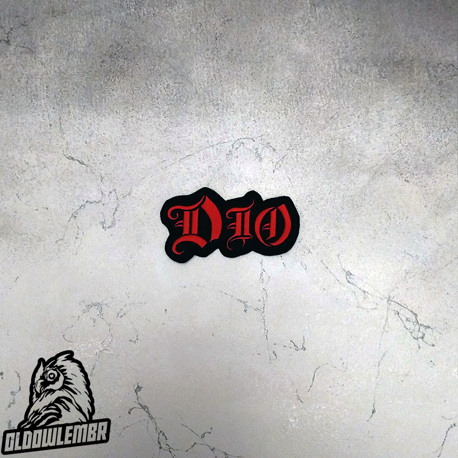Patch Dio Heavy Metal band.