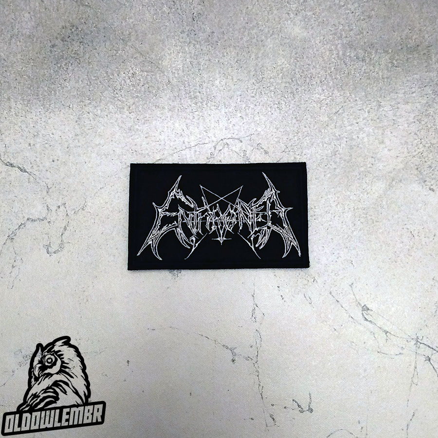 Patch Enthroned Black Metal band.