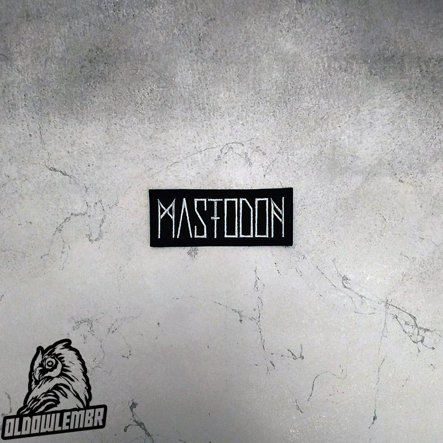 Patch Mastodon Stoner Sludge Progressive Metal band.