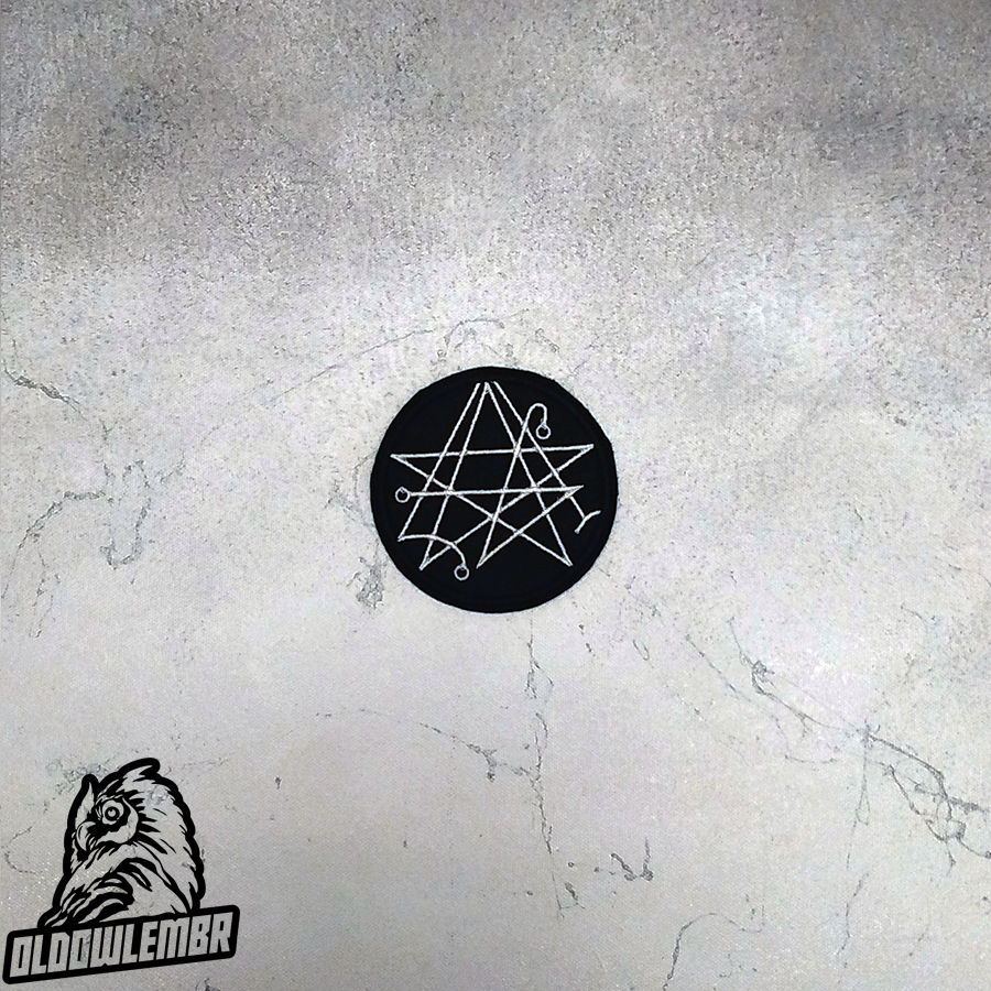 Patch Lovecraft Necronomicon symbol.