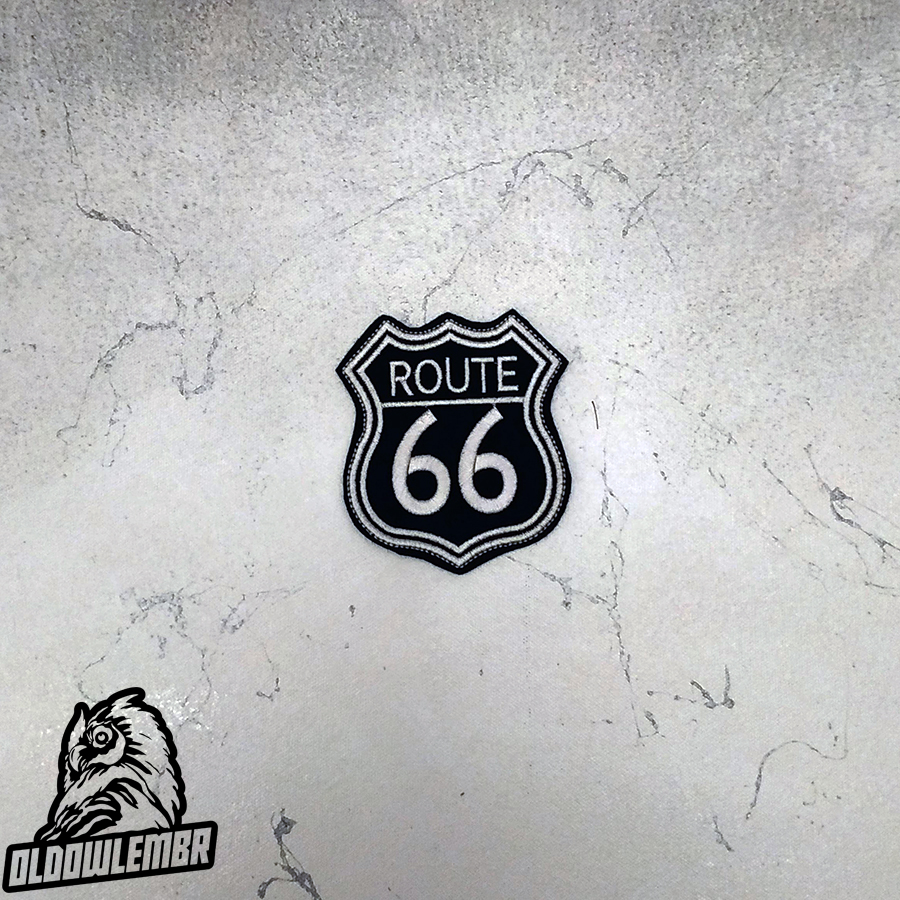 Patch biker Route 66.