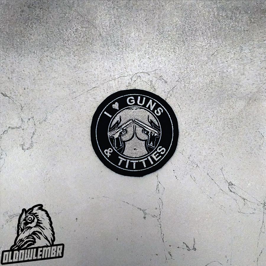 Patch Love Guns & Titties