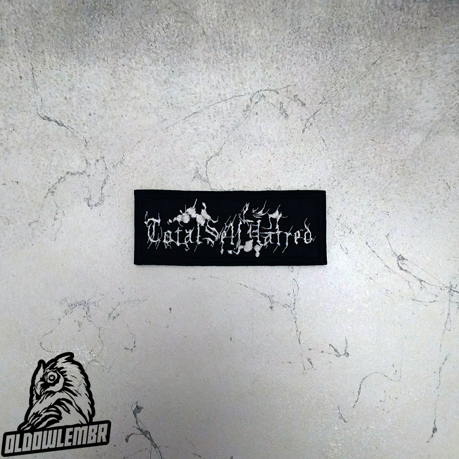 Patch Totalselfhatred Black Metal Band.