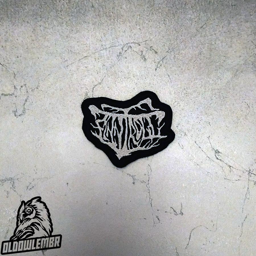 Patch Finntroll Blackened Folk Metal old logo band.