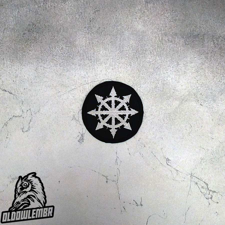 Patch Chaos Star symbol.