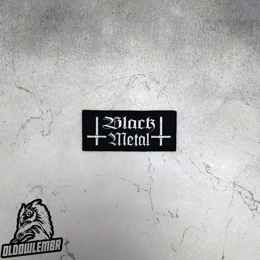Patch Black Metal.
