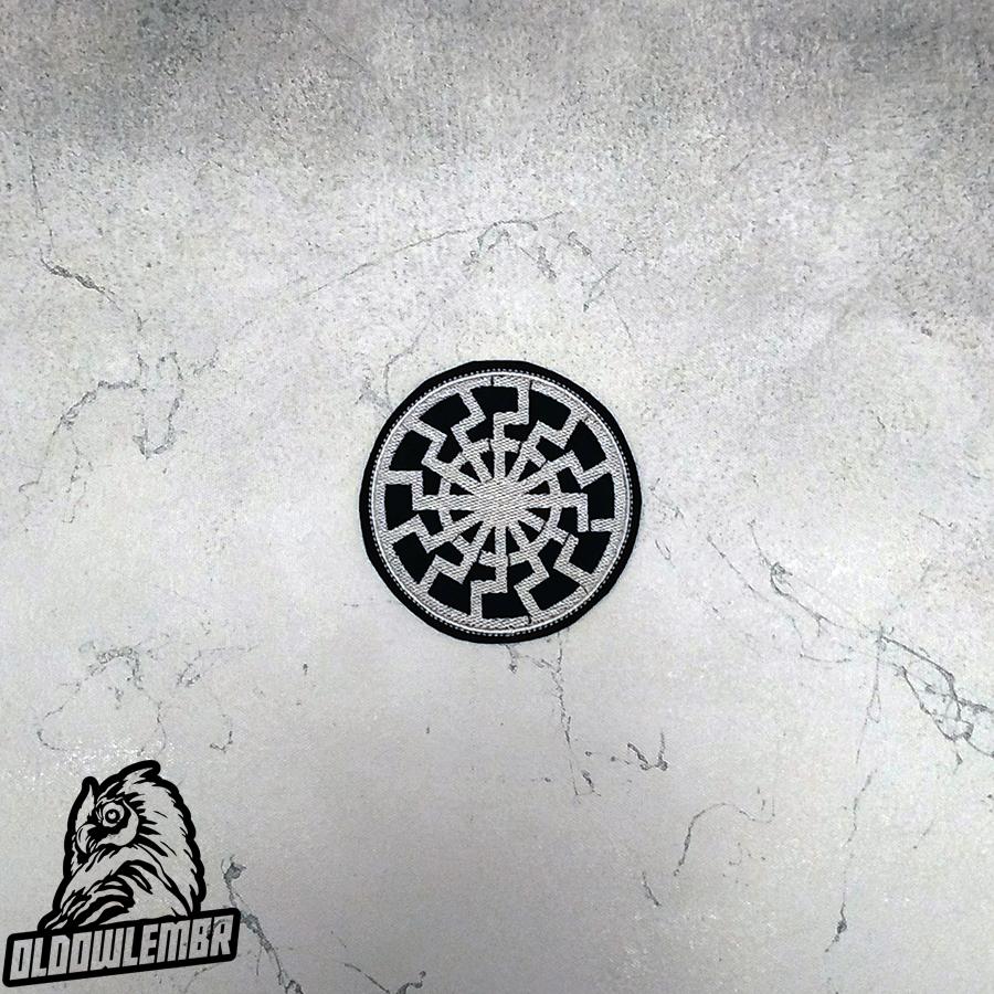 Patch Black Sun Symbol.