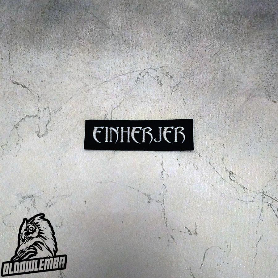 Patch Einherjer Viking Metal band.