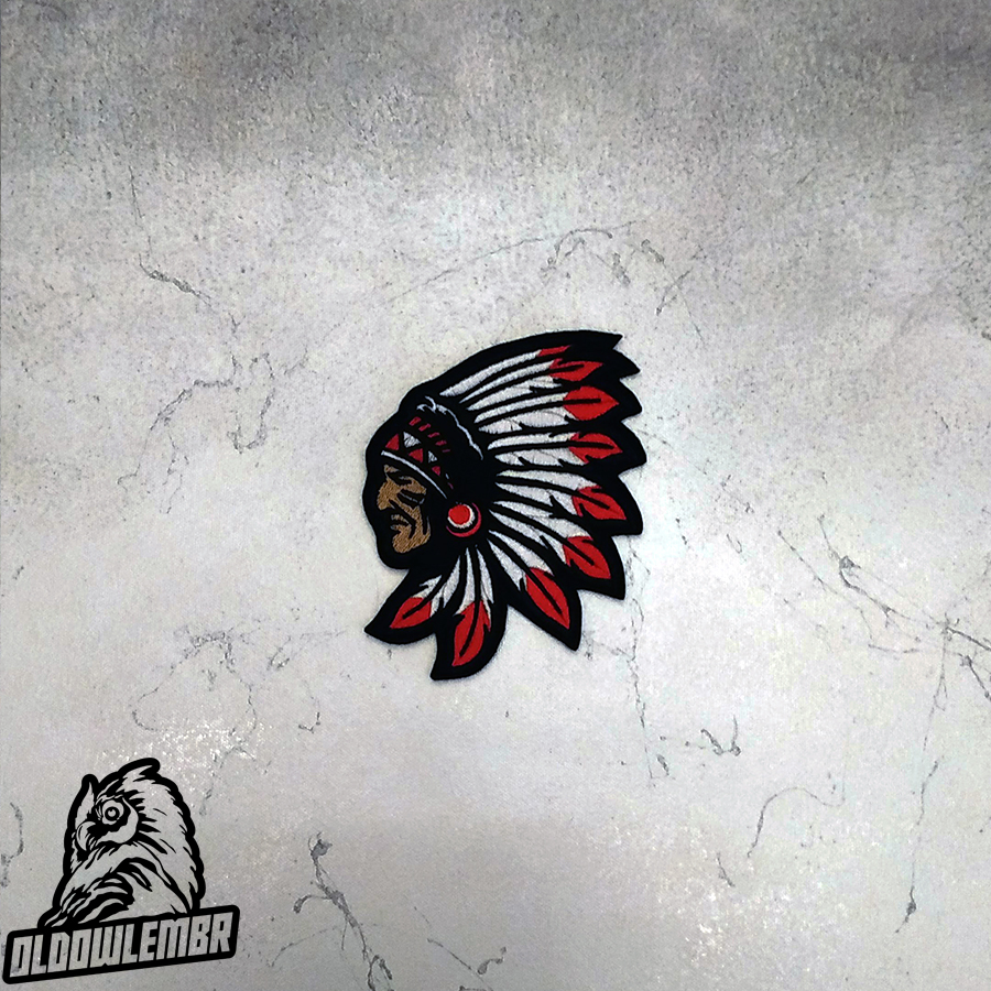 Patch Indian Cheif Headdress.
