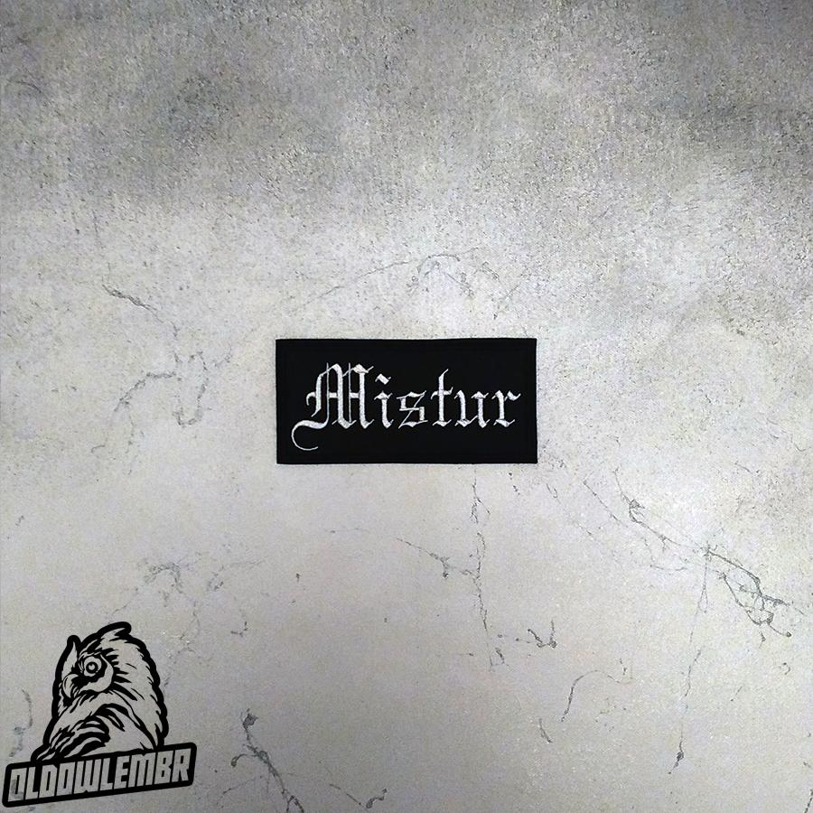 Patch Mistur Folk Viking Black Metal band.