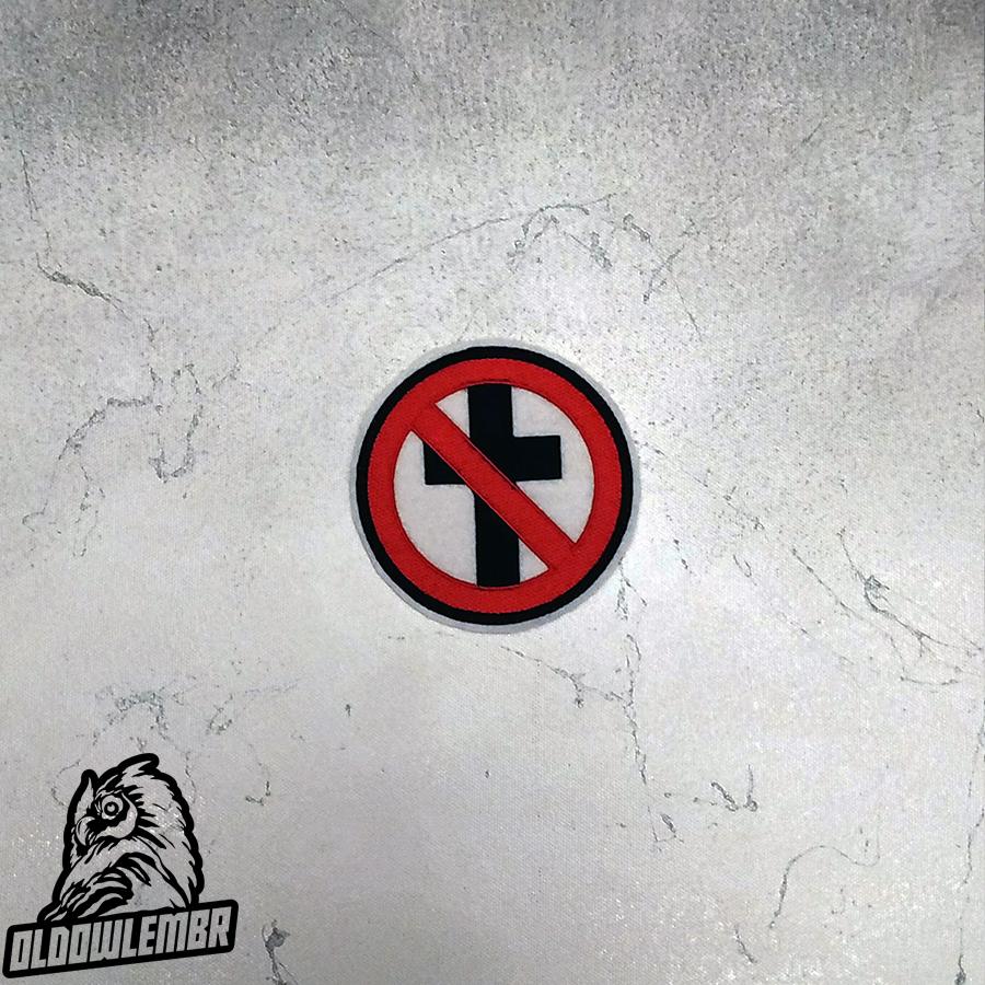 Patch Bad Religion Hardcore Punk band.