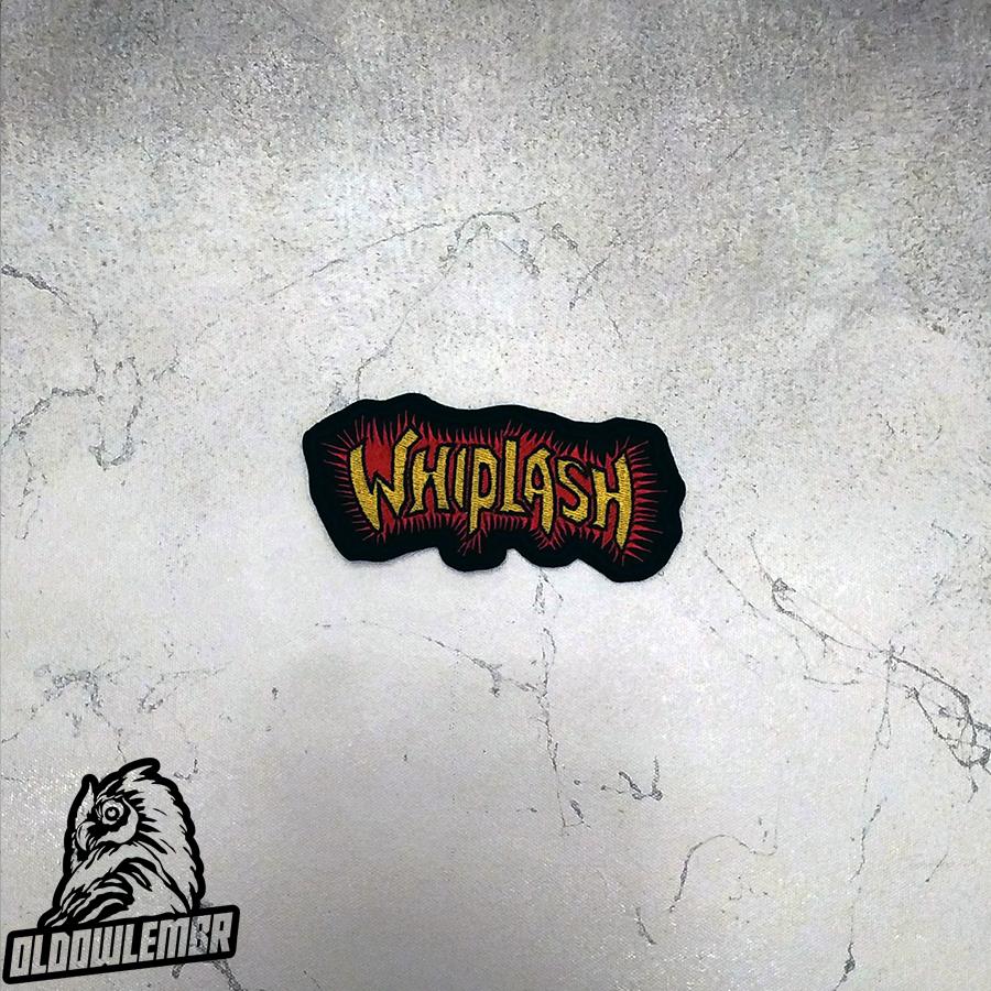 Patch Whiplash Speed Thrash Metal band.