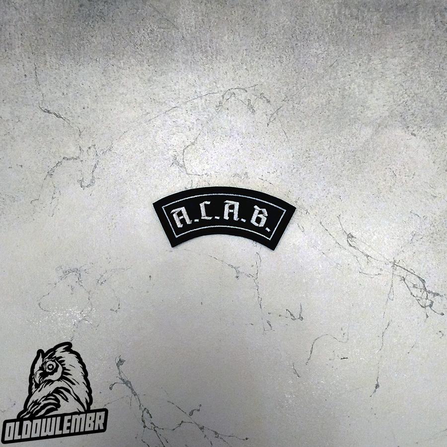 Little Rocker A.C.A.B. patch.