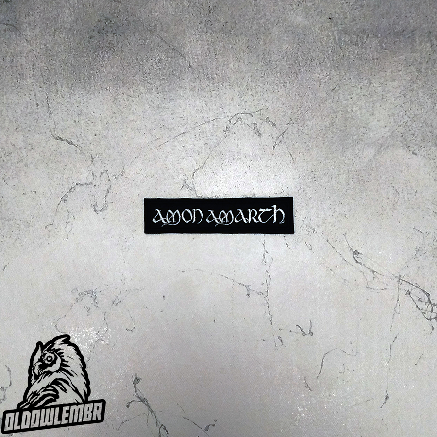 Patch Amon Amarth Melodic Death Metal band.