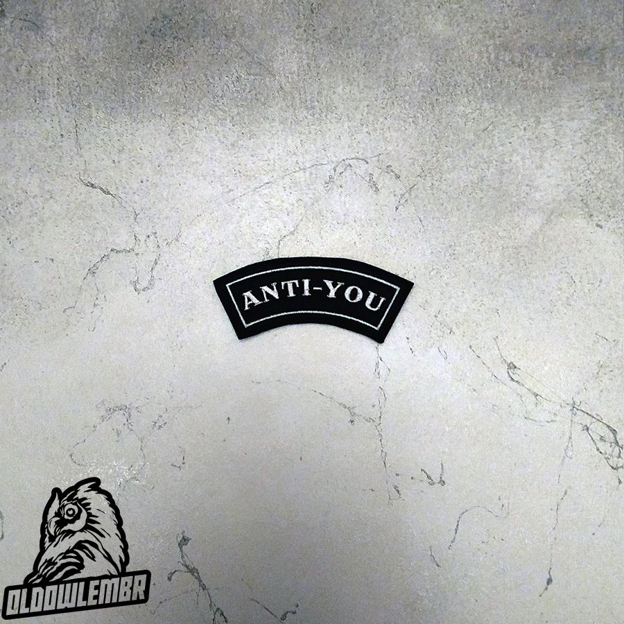 Little Rocker Anti - You patch.