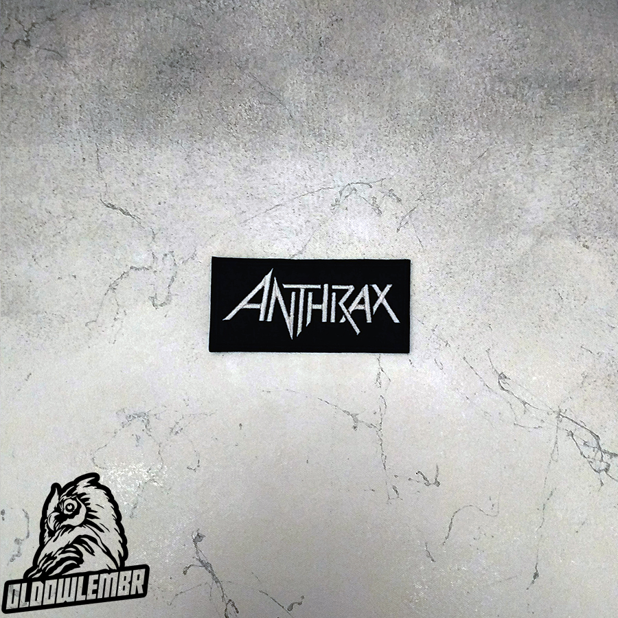 Patch Anthrax Heavy Thrash Metal band.