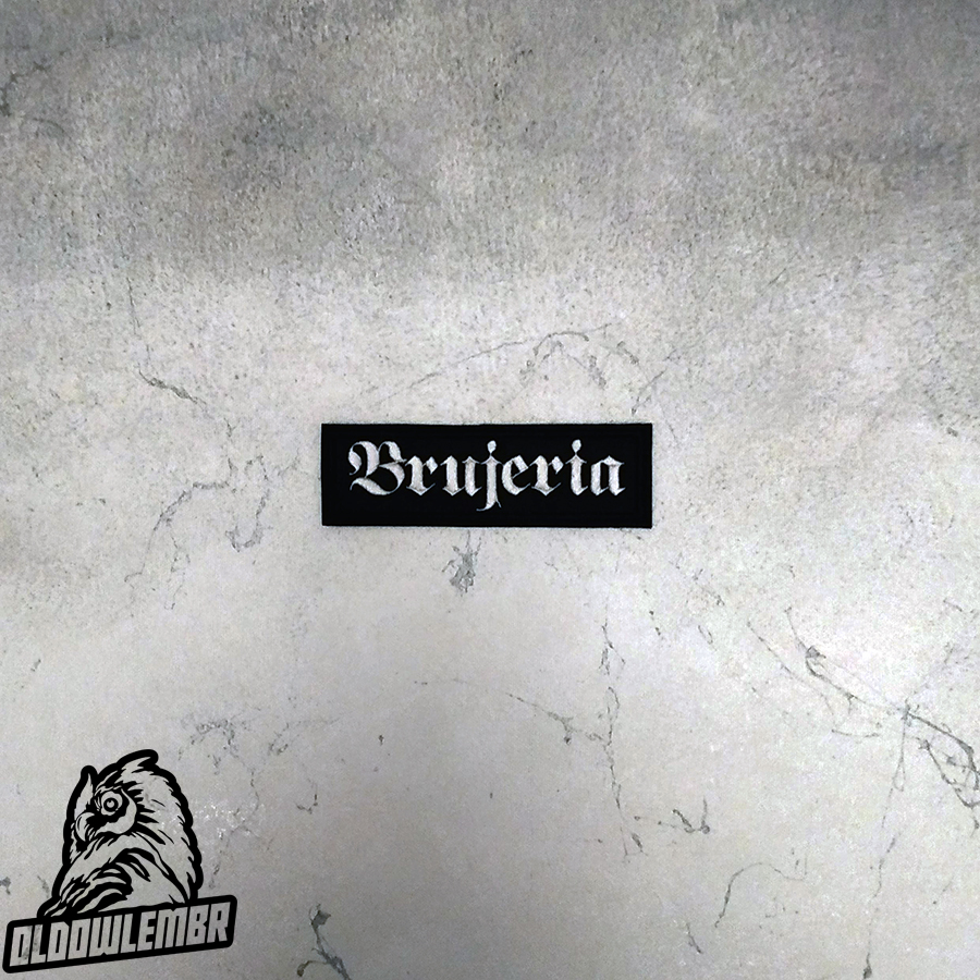 Patch Brujeria Death Metal Grindcore band.
