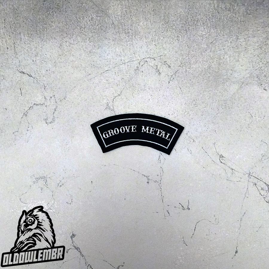 Little Rocker Groove Metal patch.