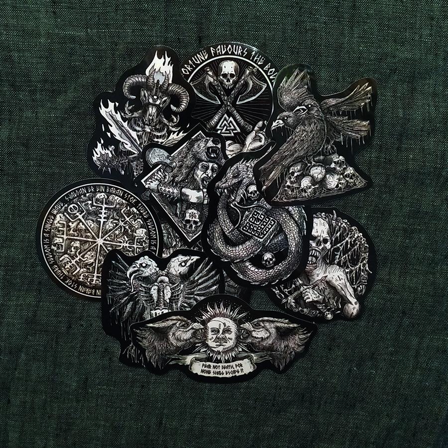 Viking Set Stikers