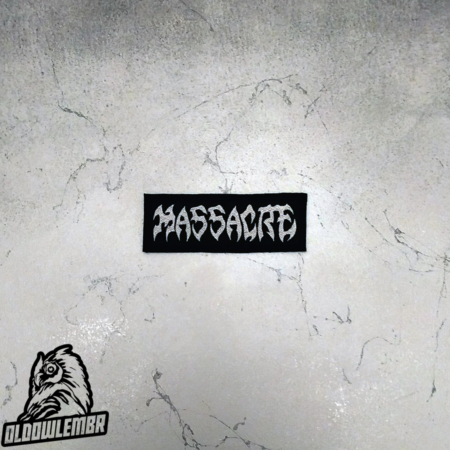 Patch Massacre Death Metal band.