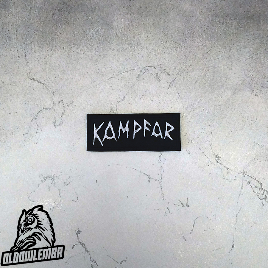 Patch Kampfar Pagan Black Metal band.