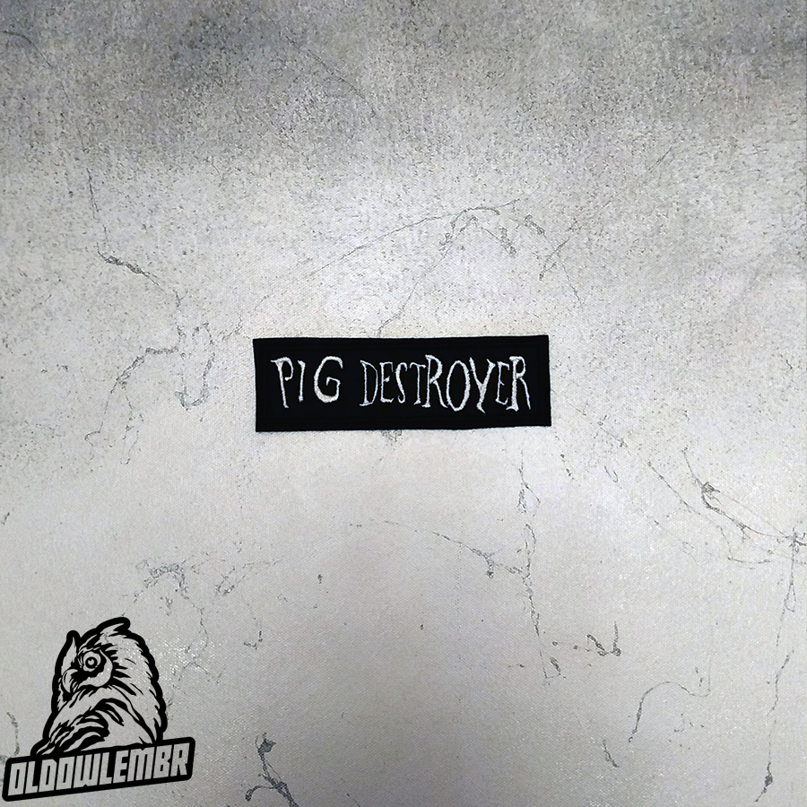 Patch Pig Destroyer Grindcore band.
