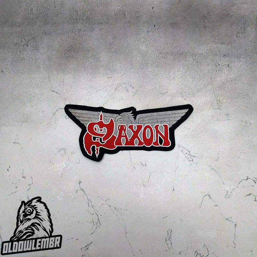 Big Back patch Saxon Eagle Heavy Metal band.