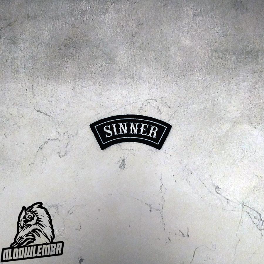 Little Rocker Sinner patch.