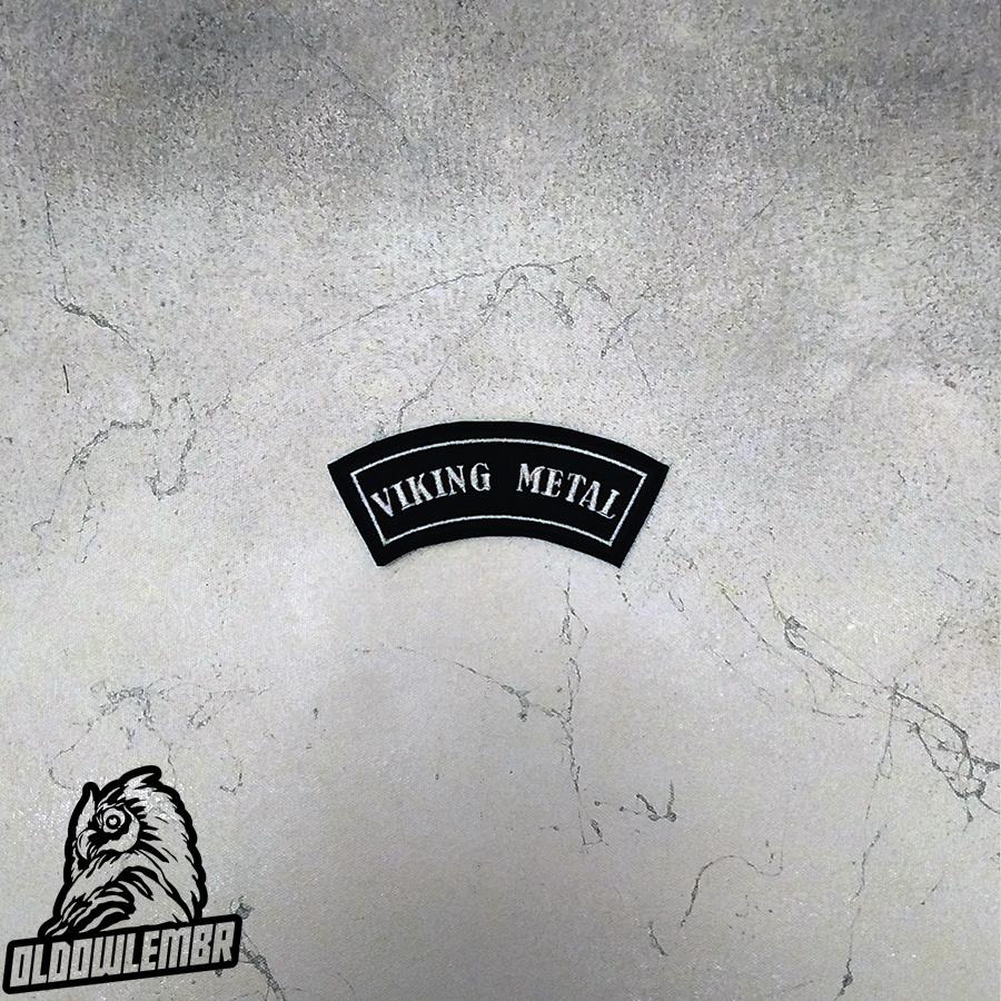 Little Rocker Viking Metal patch.