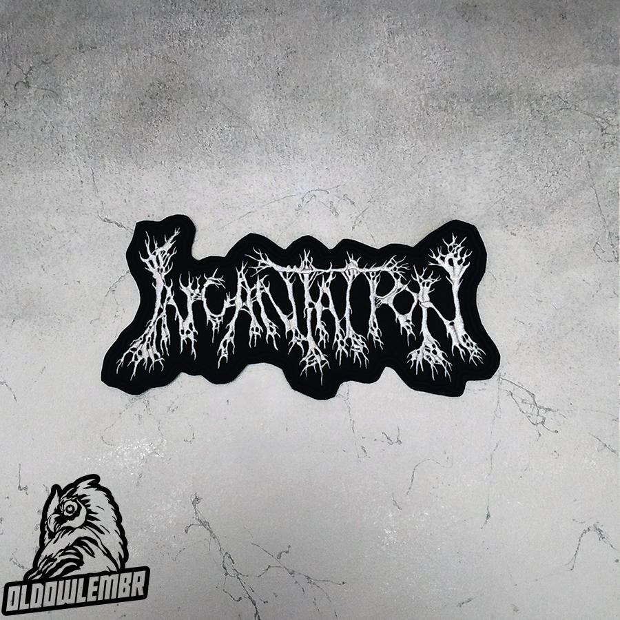 Big Back patch Incantation Death Metal band.