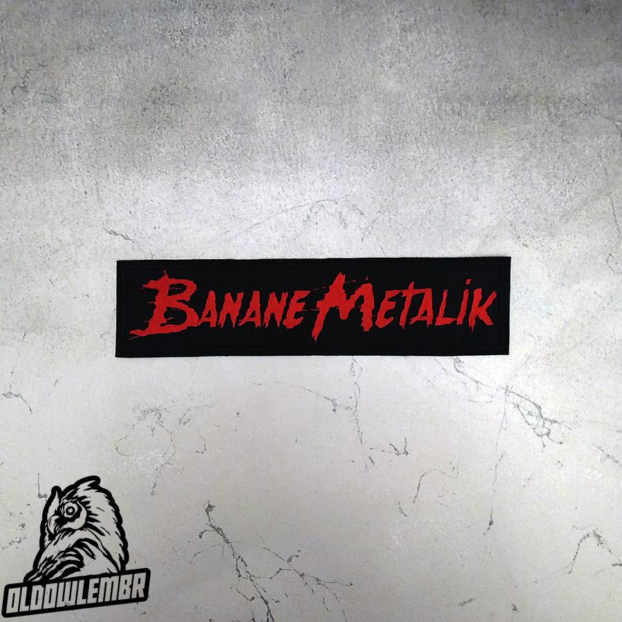 Big Back patch Banane Metalik Horror Punk Psychobilly band.