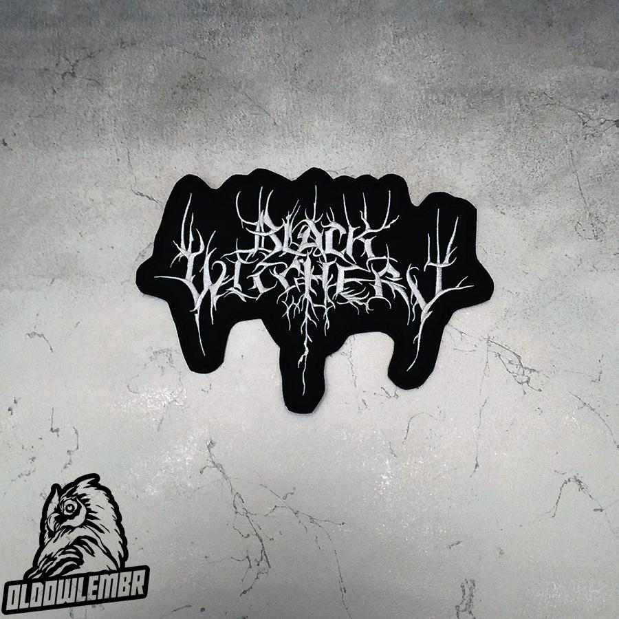 Big Back patch Black Witchery Black Death Metal band.
