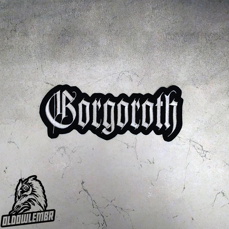 Big Back patch Gorgoroth Black Metal band.