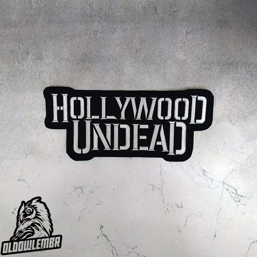 Big Back Patch Hollywood Undead Rapcore Alternative Rock band.