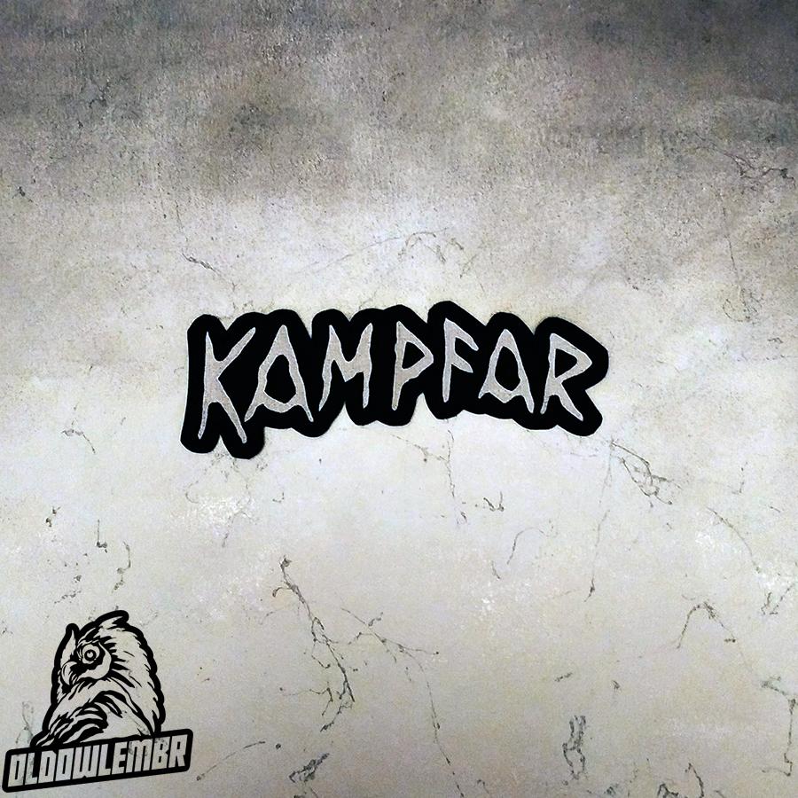 Big Back patch Kampfar Pagan Black Metal band.