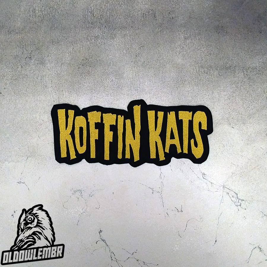 Big Back patch Koffin Kats Psychobilly band.