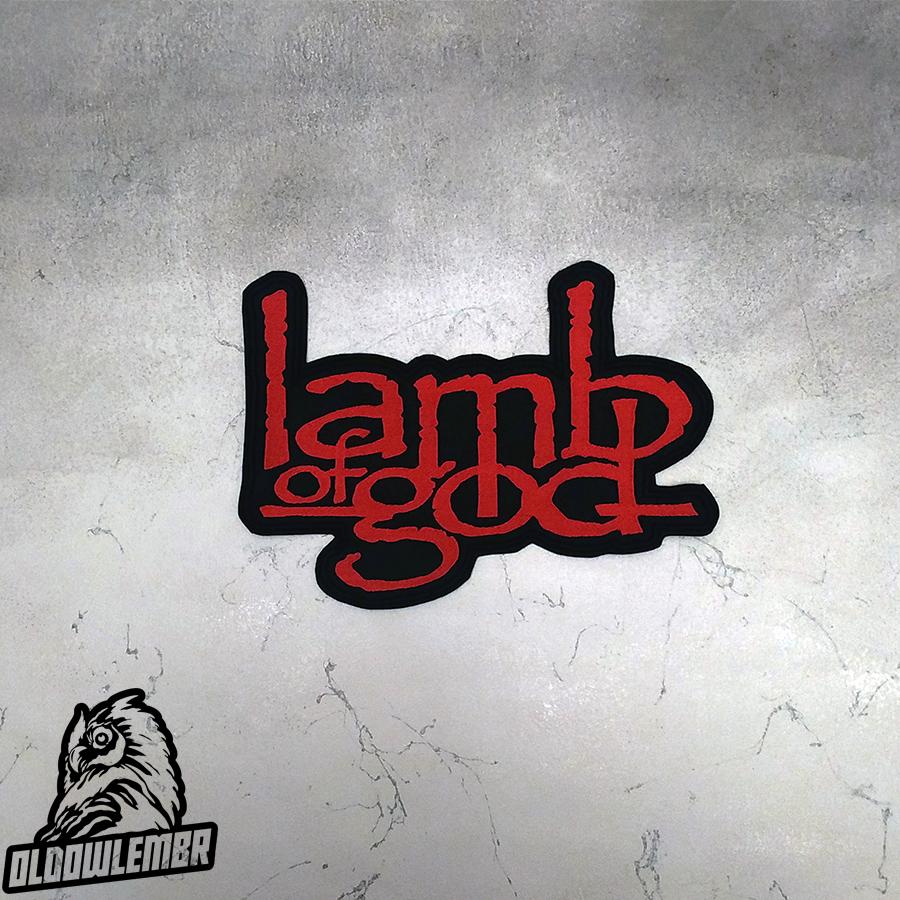 Big Back patch Lamb of God Death Trash Metal band.