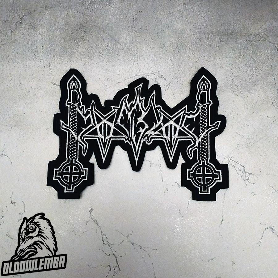 Big Back patch Moonblood Epic Black Metal band.