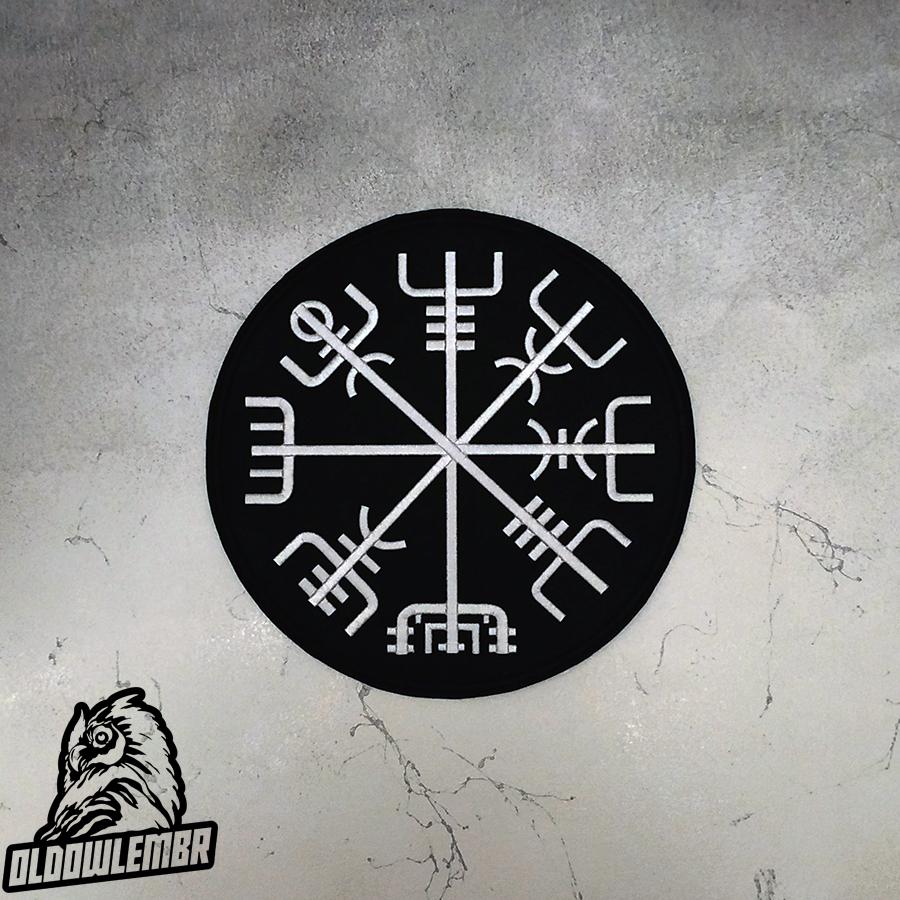 Big Back patch Viking Vegvisir.