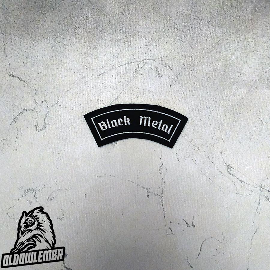Little Rocker Black Metal patch.